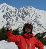 八方尾根スキー場ピーク