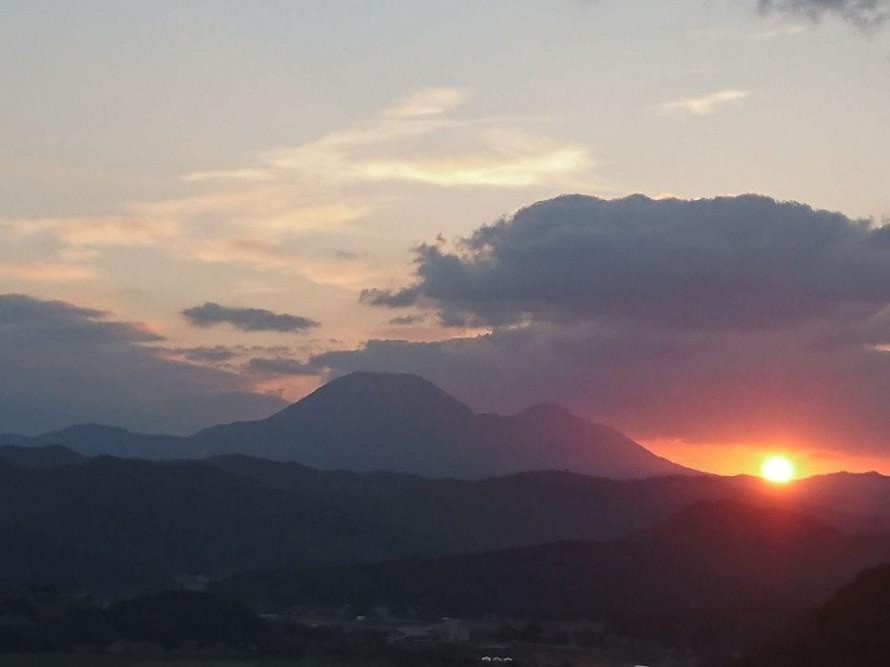三瓶山(2020年1月)