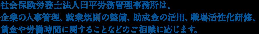 田平労務管理事務所からの提案